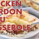 5 Ingredient Mexican Chicken Casserole - Low Carb Keto THM S