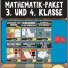 Das große Mathematik-Paket für die 3. und 4. Klasse (Diagramme, Wahrscheinlichkeit, Sachrechnen, ...