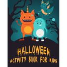 Halloween Activity Book for Kids Paperback