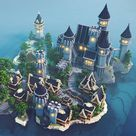 20 Minecraft Castle Build Ideas   Mom's Got the Stuff