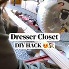 Dresser Closet DIY