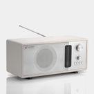 Crosley Harmony White FM Radio with Bluetooth