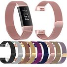 Watch Band for Fitbit Charge 3 Fitbit Charge 4 Fitbit Milanese Loop Stainless Steel Wrist Strap miniinthebox