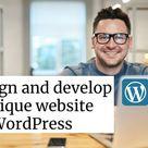 Design & Develop responsive, SEO-Friendly Website