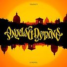 Angels and Demons by Dan Brown...in ambigram style :)