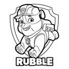 Leuk voor kids | Rubble met badge