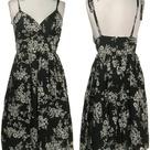 Black Floral Dresses
