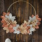 20+ Elegant Fall Decor Crafts from the Dollar Store