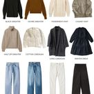 A Basic Winter Capsule Wardrobe – 24 Essential Pieces