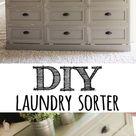 DIY Laundry Basket Dresser!