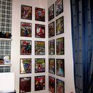 Superhero Comic book covers for boys room