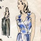 1933 Nightgown Pattern by EvaDress   Etsy