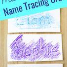 Name Tracing Craft