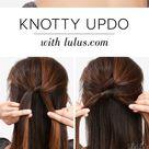 Lulus How-To: Knotty Updo Hair Tutorial - Lulus.com Fashion Blog