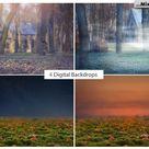 Halloween Photo Overlays + Backdrops   FilterGrade