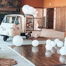 White Wedding Balloons Style and Design Ideas