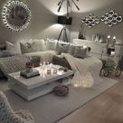 Sectional Sofas – living room interior design and home decor accents idea! #int… – 2019 - Apartment Diy