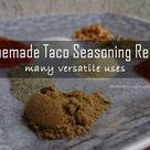 Taco Seasoning Recipes
