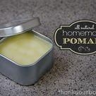 Homemade Pomade All natural for beautiful hair.