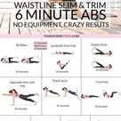 ? Get Slim and Trim with this 6 Minute Abs Workout, You Won't Believe These Results... - Transform Fitspo