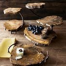 Wooden Cake Stands