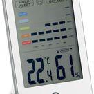 ADE Wetterstation WS 1701, Hygrometer mit visuellem Schimmelalarm