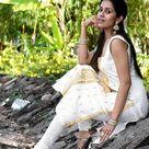 Ranjini Haridas in churidar and kameez