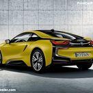BMW i8 Protonic Frozen Yellow 2018 Poster. ID1302401