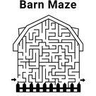 Free Printable Barn Maze