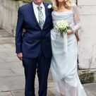 Jerry Hall's Wedding Dress The Fashion Verdict