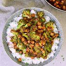 Einfache Brokkoli Pfanne mit Kichererbsen (vegan) - Elavegan | Rezepte