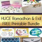 FREE Ramadhan/ Eid Printable Bundle for Subscribers | AYEINA