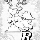 Winterzeit ABC Malvorlagen für kalte Wintertage | BabyDuda » Malbuch