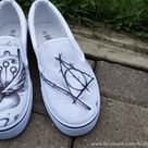 Harry Potter Themed Shoes by P-O-R-K-Y on DeviantArt