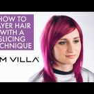 How to Layer Hair with a Slicing Technique