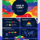 Love Is Love Google Slides theme and PowerPoint template