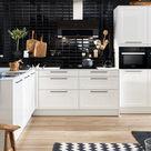 Küchen in L Form Vorteile, Nachteile, Beispiele und Bilder für moderne Eckküchen   Küchenfinder