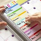 DIY Erin Condren Snap-In Meal Planner/To-Do List & FREE Printable!