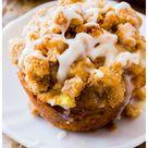 Apple Cinnamon Crumb Muffins - Sally's Baking Addiction