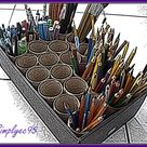 Paint Brush Holders