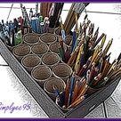 Paint Brush Holders