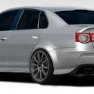 2005-2010 Volkswagen Jetta Duraflex R-GT Wide Body Rear Bumper Cover - 5 Piece