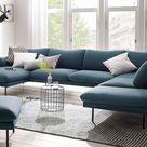 andas Wohnlandschaft »Mavis«, mit losen Sitz- und Rückenkissen, skandinavischer Stil online kaufen | OTTO