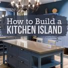 Two Simple DIY Kitchen Island Designs