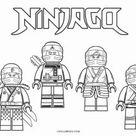 Ausmalbilder Ninjago - Malvorlagen kostenlos zum ausdrucken