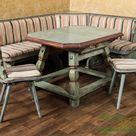 Voglauer Landhaus Garnitur Essgruppe Eckbank Tisch Stühle Esszimmer Küche Massiv | eBay