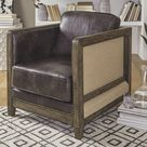 Brown Casual Copeland Accent Chair A3000226