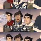 Bolin seeing Eska and Desna for the first time