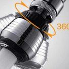 Water Saving Diffuser Swivel Faucet (360 Rotate)
