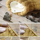 DIY | Wärmflaschenbezug stricken - mxliving
